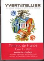 CATALOGUE YVERT TOME 1 2018 FRANCE NEUF AVEC BLOC MARIE NOELLE COFFIN. - France