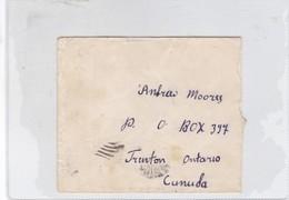 SOBRE ENVELOPE CIRCULEE GREECE TO CUNUDA CIRCA 1930's-BLEUP - Greece