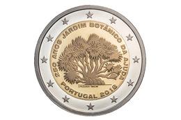"""PORTUGAL  2€ 2.018  2018 Bimetálica  SC/UNC  """"250 Anos JARDIM BOTANICO DA AJUDA""""  T-DL-12.204 - Portugal"""