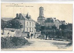 SAINT ETIENNE DE MONTLUC - Rue De La Gare - Saint Etienne De Montluc