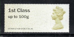 GB 2015 QE2 1st Class Post & Go Olive Brown No Gum ( A490) - Great Britain