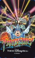 Télécarte NEUVE Japon - DISNEY SEA - FANTASMIC - MICKEY - Japan MINT Teleca Phonecard - Disney