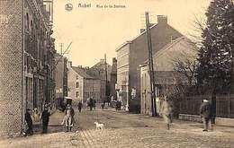 Aubel - Rue De La Station (belle Animation, 1921, Edit. Jonckers) - Aubel