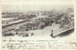 ***  13   ***  MARSEILLE Les Bassins De La Joliette   Précurseur écrite TTB - Joliette, Port Area