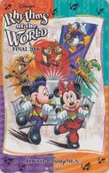 Télécarte NEUVE Japon / MF-1002771 - DISNEY SEA - RHYTHMS OF THE WORLD - Japan MINT Teleca Phonecard - Disney