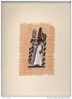 Papyrus Peint à La Main - Egypte - Reine Néfertari - Prints & Engravings