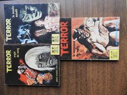 Terror Et Terrificolor : Lot De 7 BD Adultes Horreur - Paquete De Libros