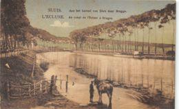 Sluis, Au Canal De L'Ecluse à Bruges - Sluis