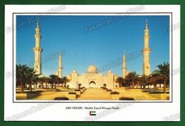 UNITED ARAB EMIRATES / UAE - ABU DHABI Sheikh Zayed Mosque In Sunlight - Postcard # 51 - Unused As Scan - Emirats Arabes Unis