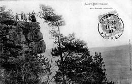 Saint-Dié (88) - Aux Roches D'Anozel 1907 - Saint Die