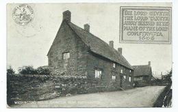 Northamptonshire Brington Washington's House. Lnwr Postcard Squared Circleblisworth - Northamptonshire