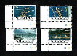 Niuafo'ou 1986 Sc # 76 / 79  MNH **  Ships - Ships