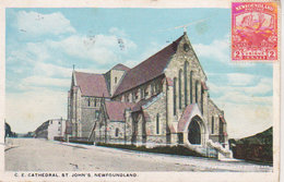1921  E. Cathedral   St John's Newfoundland - St. John's