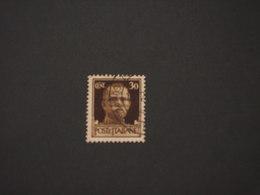 BASE ATLANTICA - 1943 - RE 30 C. - TIMBRATO/USED (SOPRASTAMPE ORIGINALI DELL'EPOCA) - 4. 1944-45 Social Republic