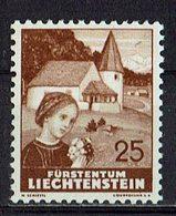 Liechtenstein 1937 // Mi. 161 * Falz (026..729) - Liechtenstein
