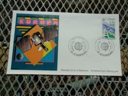 FRANCE (1991) ESPACE Satellite TDF 1 - FDC