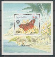 71741) Seychelles Stamps 1991 - Butterflies MNH Sheet - Seychelles (1976-...)