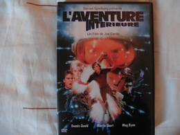 DVD L'aventure Interieure De Joe Dante Avec Dennis Quaid Martin Short Meg Ryan - Tres Bon Etat - Ciencia Ficción Y Fantasía