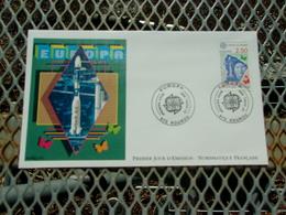 FRANCE (1991) ESPACE Fusée Ariane - FDC