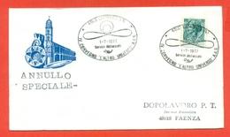 AVIAZIONE-AEREI -CATTOLICA - CONVEGNO L'ALTRO UNIVERSO AAS - MARCOFILIA - - Airplanes