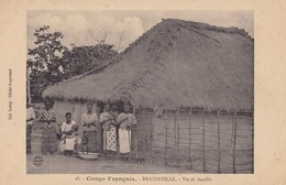 BRAZZAVILLE - Vie De Famille - French Congo - Other