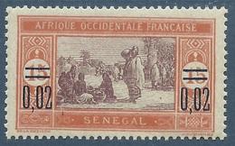 SENEGAL 1922 YT 92** - Senegal (1887-1944)