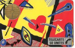 CARTE-PUBLIC-1987-F 05-BUL1-50U-MACIF-TOFFE- UT ILISEE-TB E-LUXE - France