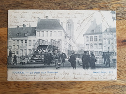 "CP Tournai 1905 ""Le Pont Aux Pommes - N°9, L. Lagaert"" - Tournai"