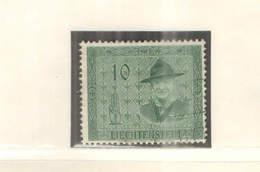 Liechtenstein PO 1953 Scout  .Scott.270+See Scan On Lindner Page - Liechtenstein