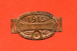 Fiscal Fiscaux, Plaque De Vélo 1913 Très Bon état - Fiscaux