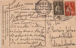 1917-1920 Portugal - Ceres - BPI BUSSACO - 1910 - ... Repubblica