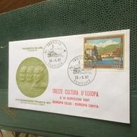 ITALIA FDC VERBANIA PALLANZA STUPENDA BUSTA PRIMO GIORNO - Stamps