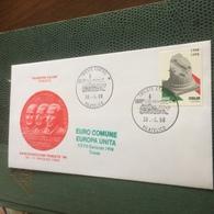 ITALIA FDC LA COSTITUZIONE STUPENDA BUSTA PRIMO GIORNO - Stamps