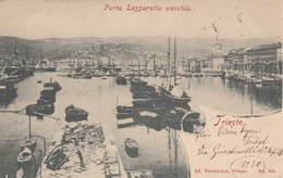 TRIESTE-PORTO LAZZARETTO VECCHIO-CARTOLINA VIAGGIATA IL 8-6-1900 - Trieste