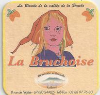 "Sous-bock ""La Bruchoise"" - Brasserie Artisanale à Saales (Bas-Rhin) - Beer Mats"