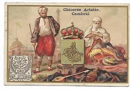 CHROMO - CHICOREE BLEU ARGENT - ARLATTE & Cie Cambrai - Turquie - Tea & Coffee Manufacturers
