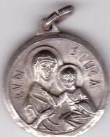 BASILICA DELLA BV DI S LUCA BOLOGNA. MEDALLA CIRCA 1920s SIZE 2.5cm Diam WEIGHT 9grs-BLEUP - Altri