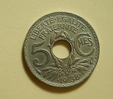 France 5 Centimes 1938 - France