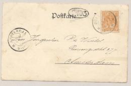 Nederland - 1901 - 3 Cent Bontkraag Oranje Op Ansicht Van Doesburg Naar Amsterdam  - Gruss Aus Aachen... - Period 1891-1948 (Wilhelmina)
