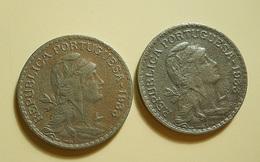 Portugal Guiné 2 Coins 1 Escudo 1933 - Portugal
