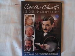 DVD Les Crime De L'Orient-Express D'Agatha Christie 1974 Avec Albert Finney Lauren Bacall J.Bisset Sean Connery - Policiers