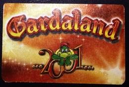 Gardaland 2001, Ticket Used- Ingresso Intero. Scad. 29.4.2001 - Biglietti D'ingresso
