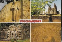 SRI LANKA - POLONNARUWA - LE ROVINE - VIAGGIATA 1991 - Sri Lanka (Ceylon)