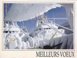 Saint-Pierre Et Miquelon - Escale à Saint-Pierre - Chalutier Au Port Couvert De Glace - Saint-Pierre-et-Miquelon