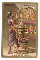 CHROMO - CHICOREE BLEU ARGENT - ARLATTE & Cie Cambrai - Le Siphon Egyptien - Tea & Coffee Manufacturers