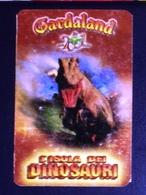 Gardaland 2001, L'isola Dei Dinosauri, Ticket Used- Ingresso Intero. Scad. 29.4.2001 - Biglietti D'ingresso