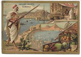CHROMO - CHICOREE BLEU ARGENT - ARLATTE & Cie Cambrai - Méditerranée Occidentale - Tea & Coffee Manufacturers
