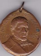 NICOLAS RODRIGUEZ PEÑA CENTENARIO INDEPENDENCIA ARGENTINA 1910 MEDALLA SIZE 3cm DIAM WEIGHT 14grs-BLEUP - Celebrities