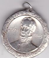 MARTIN RODRIGUEZ CENTENARIO INDEPENDENCIA ARGENTINA 1910 MEDALLA SIZE 3.2cm DIAM WEIGHT 15grs-BLEUP - Personnes Célèbres