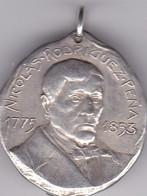 NICOLAS RODRIGUEZ PEÑA CENTENARIO INDEPENDENCIA ARGENTINA 1910 MEDALLA SIZE 3cm DIAM WEIGHT 13grs-BLEUP - Celebrities
